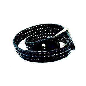 Nike Golf Women's Black Leather Belt